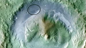 Mars Curiosity Rover Landing Site